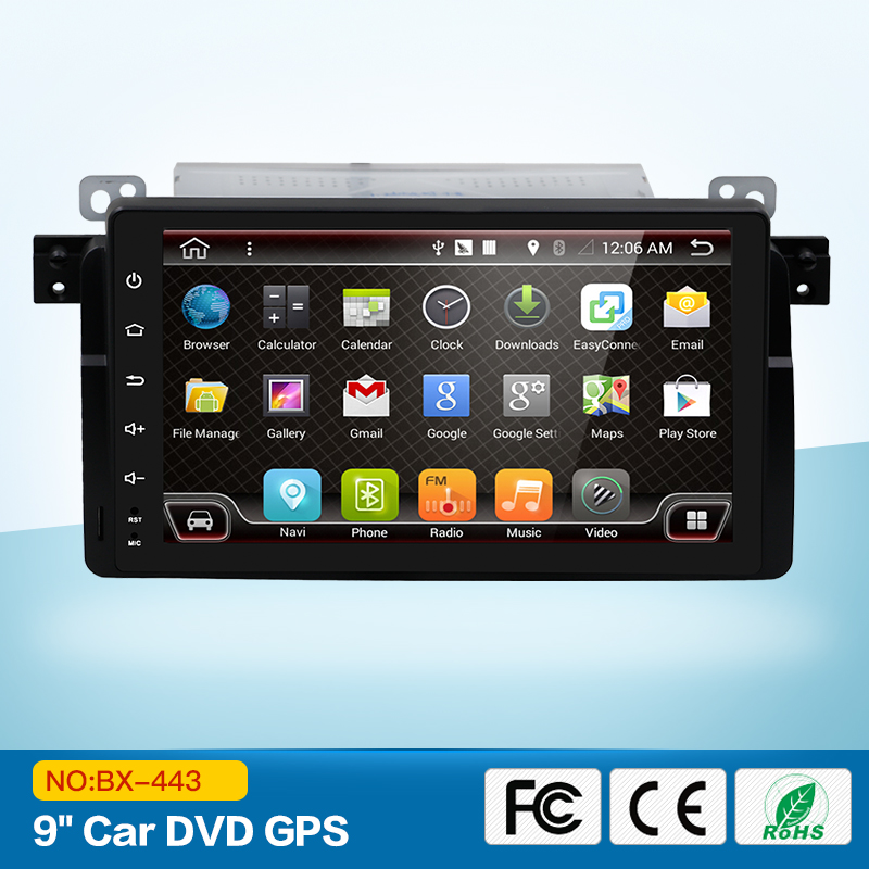 2 DIN Android 6.0 Автомобильный DVD для BMW E46 Автомобильный мультимедийный Android Радио стерео GPS навигации 4 ядра Bluetooth WI-FI Радио