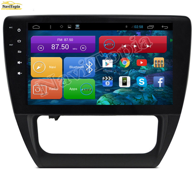 Navitopia 1024*600 10.2 ''Quad Core Android 4.4 автомобилей Радио для VW Sagitar 2013-2016 с bluetooth 3 г Wi-Fi Зеркало Ссылка