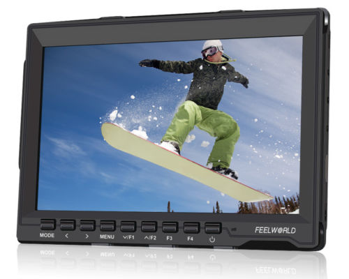 Feelworld FW-759 7' 'HD IPS Монитор HDMI для SLR Видеокамеры