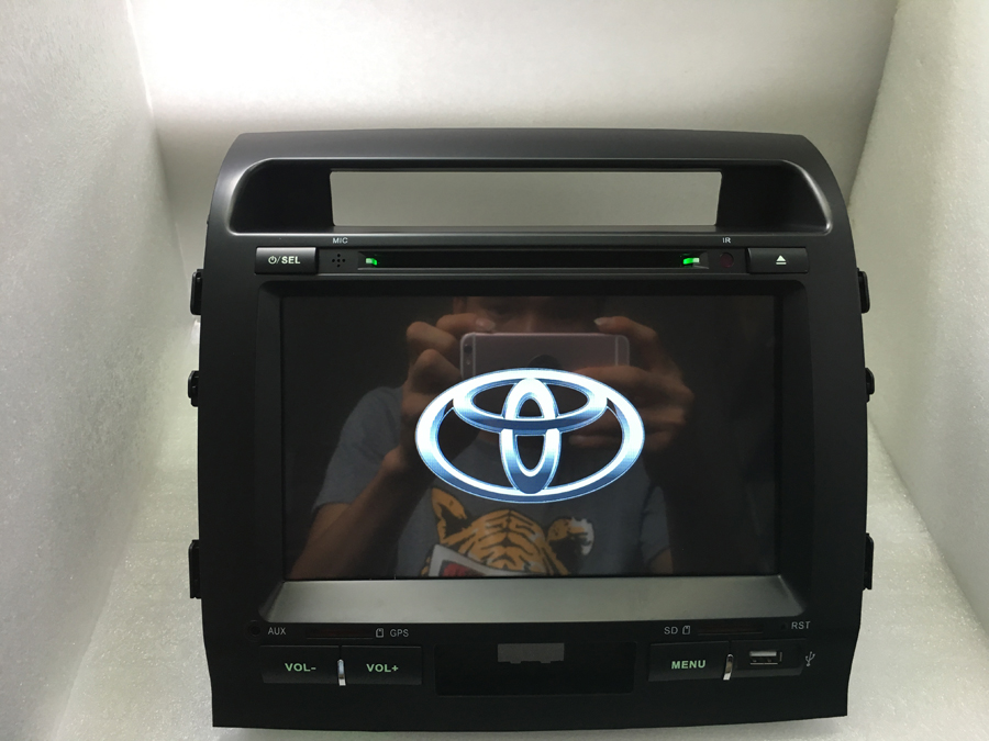 Android 6.0 quad core для TOYOTA Land cruiser 200 2008-1024*600 Dvd-плеер Автомобиля 2din автомобиль 3 г/wi-fi радио gps бесплатно доставка