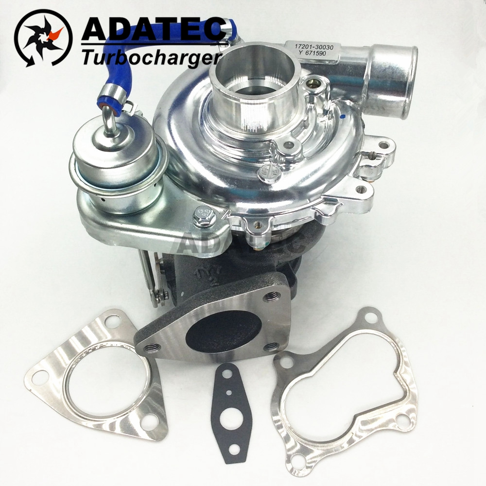 Новый ct9 turbo charger 1720130120 172010l030 1720130030 турбокомпрессор 17201-30030 турбины для toyota hiace 2.5 d4d 102 hp 2kd-ftv